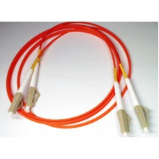 LC PC-LC PC MM Duplex 50/125 3мм патч-корд --1м многомод