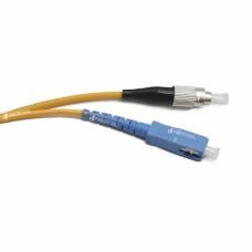 SC UPC-FC UPC SM Simplex 3мм патч-корд --0.5м