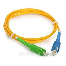 SC\UPC-SC\APC SM Simplex LSZH 3мм Hyperline патч-корд --1м