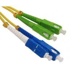 SC\UPC-SC\APC SM Duplex LSZH 3мм Hyperline патч-корд --1м