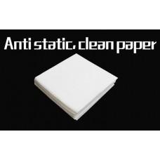 Салфетки безворсовые антистатические 50шт для протирки оптического волокна 50шт