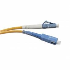 LC UPC-SC UPC SM Simplex 3мм патч-корд --1м