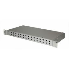 шкаф кроссовый оптический стоечный ШКО-С-1U-32 FC