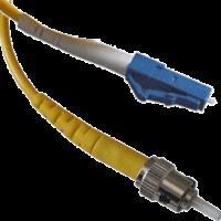 LC UPC-ST UPC SM Simplex 3мм патч-корд --3м