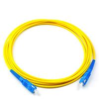 SC/UPC-SC/UPC SM Simplex 3мм патч-корд --0.5м